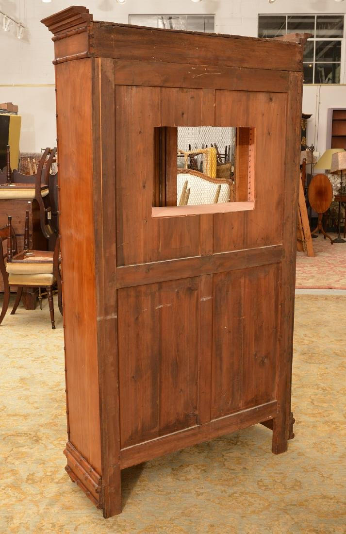 R.J. Horner style Faux bamboo cabinet - 6