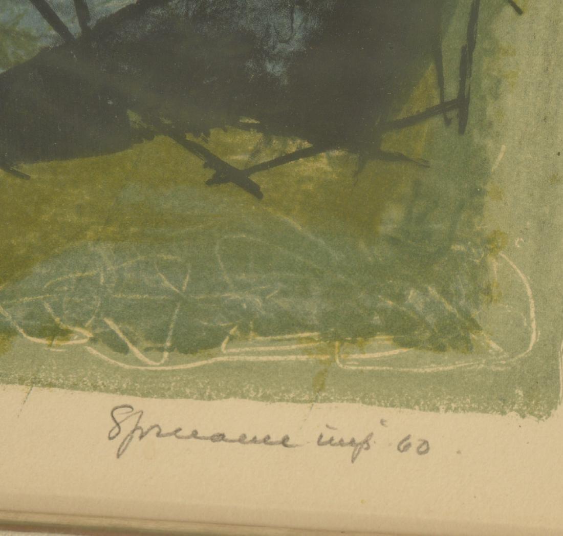 Benton Spruance, Gettysburg color lithograph - 6