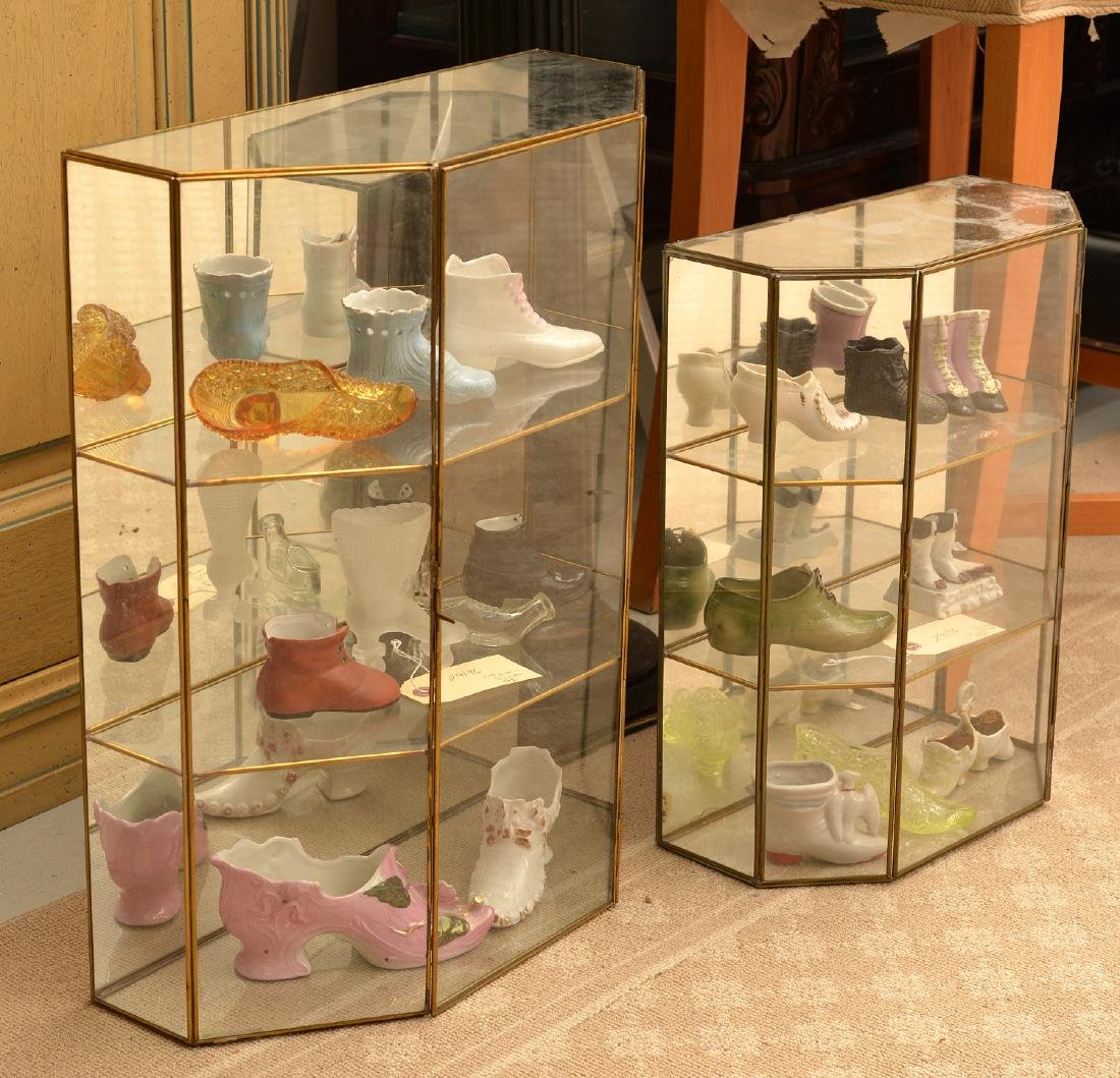Miniature shoe collection
