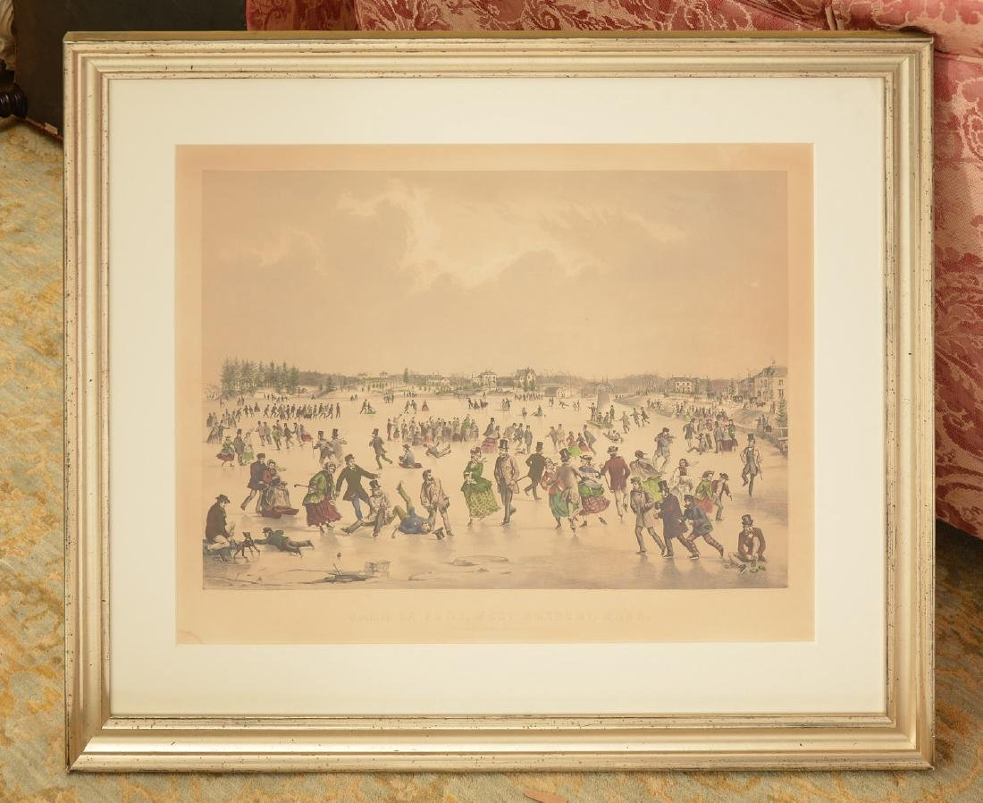 Currier & Ives, color lithograph