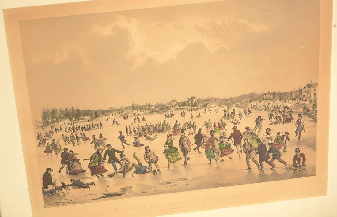 Currier & Ives, color lithograph - 2