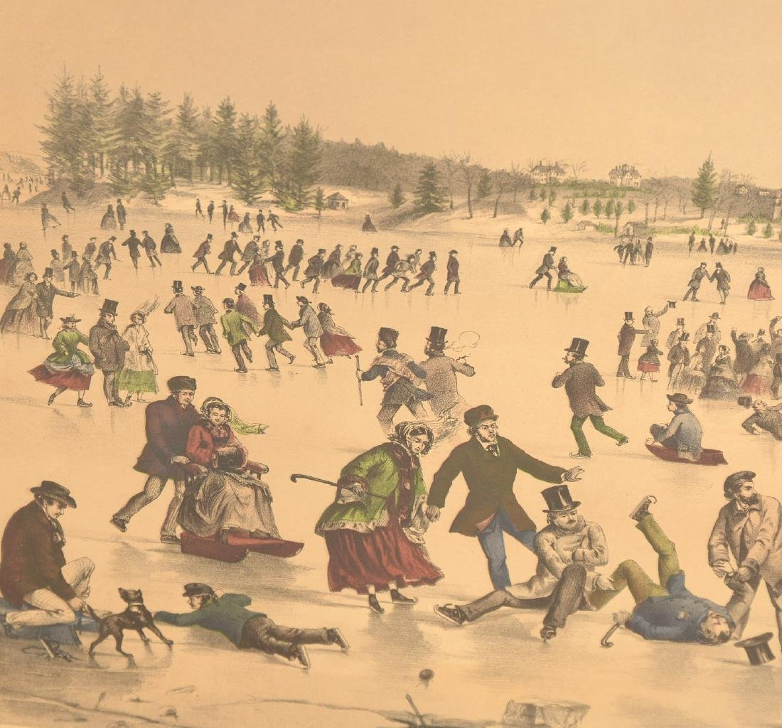 Currier & Ives, color lithograph - 3