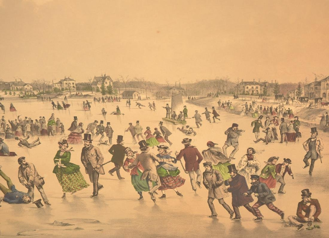 Currier & Ives, color lithograph - 4