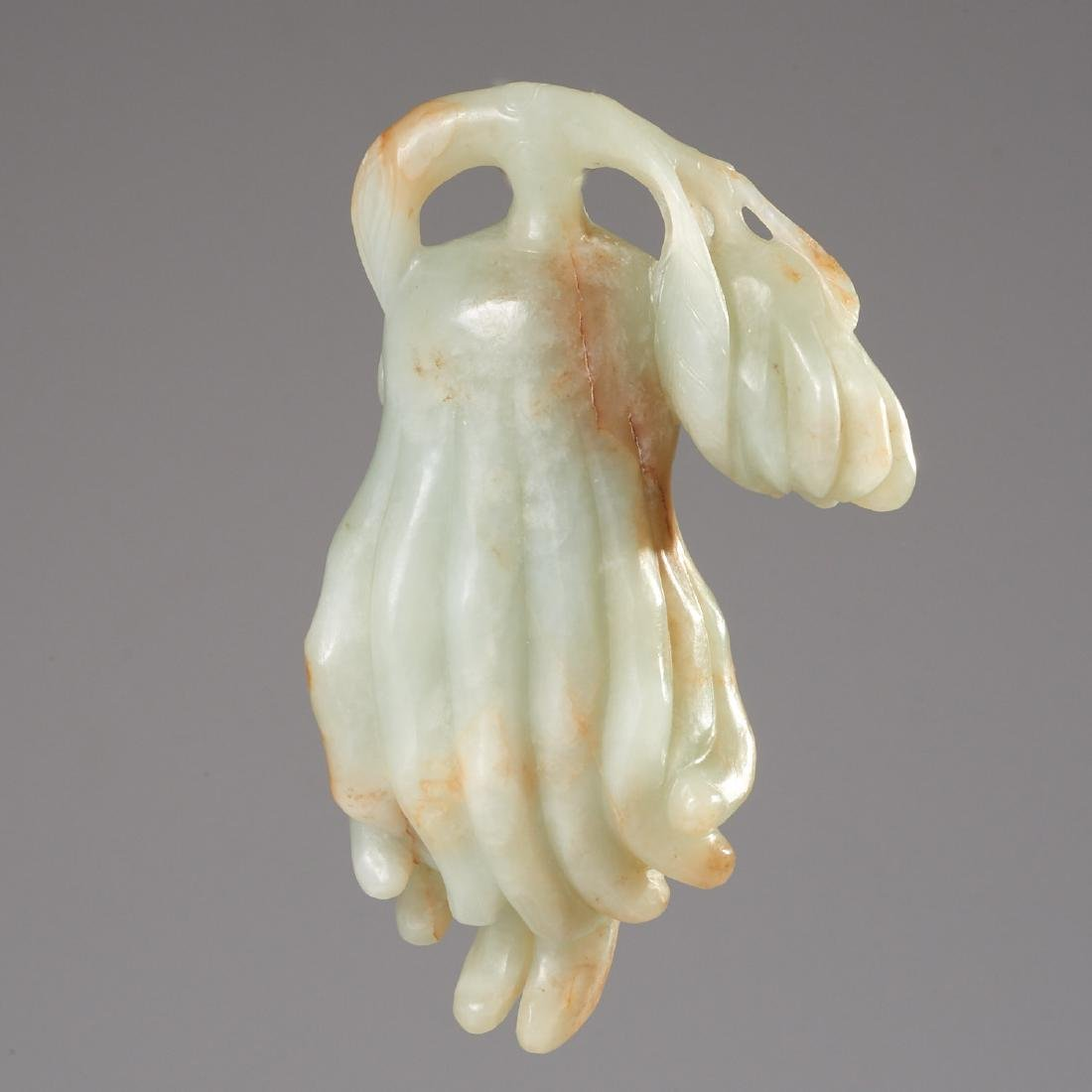 Chinese carved jade weight