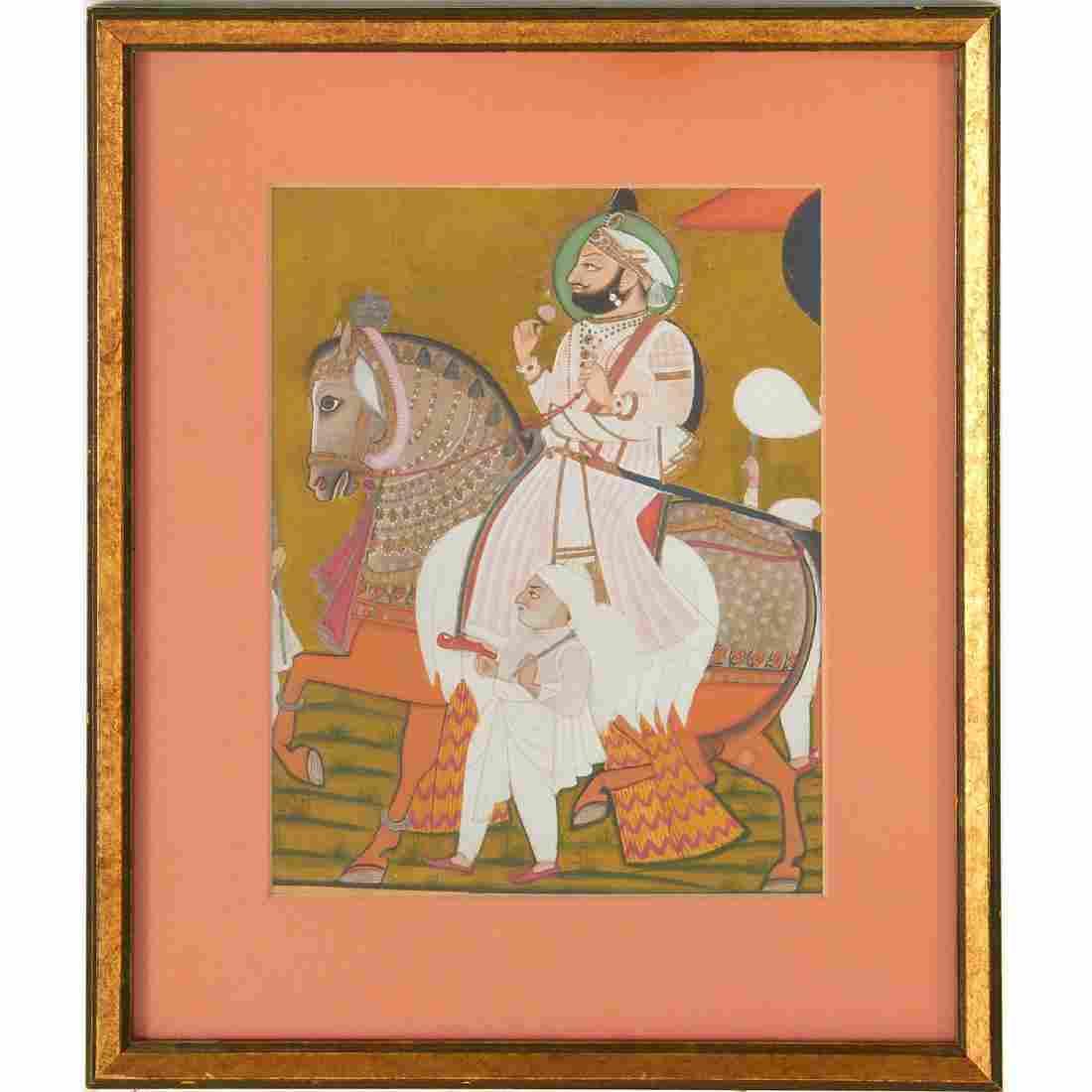Mewar School, painting
