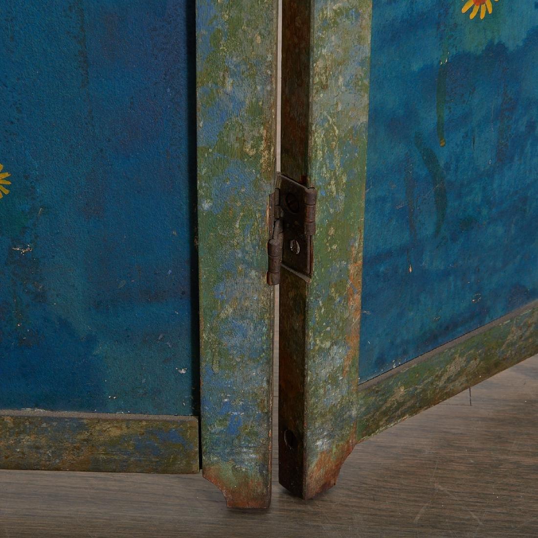 Anne Hyatt Huntington, painted screen - 3