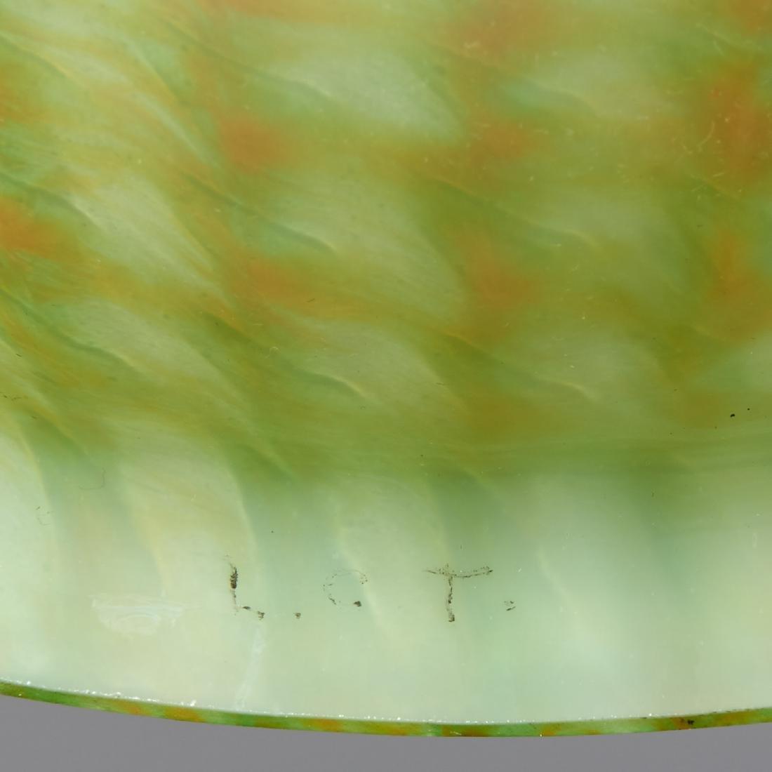 TIffany Studios Favrile glass vase on stand - 5