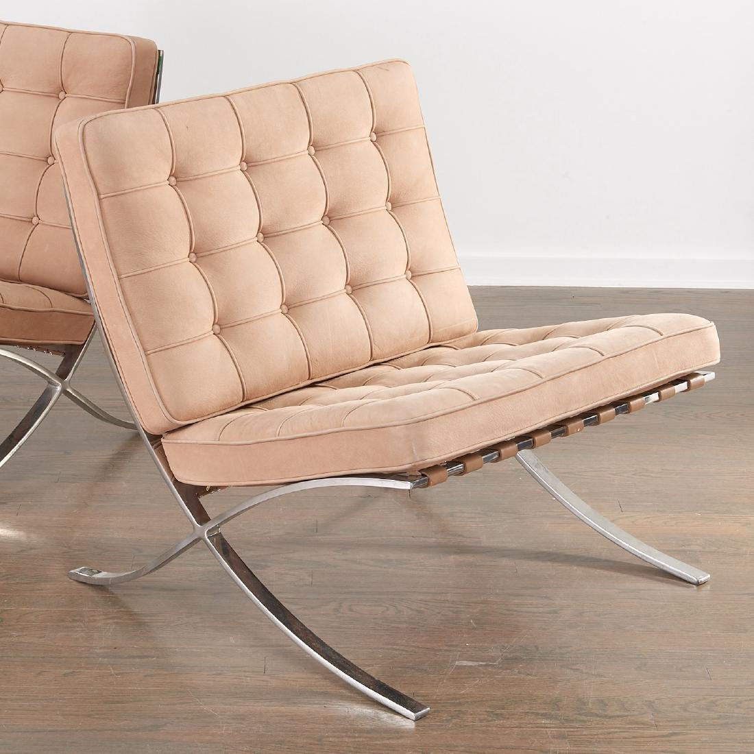 Pair Knoll Barcelona chairs - 4