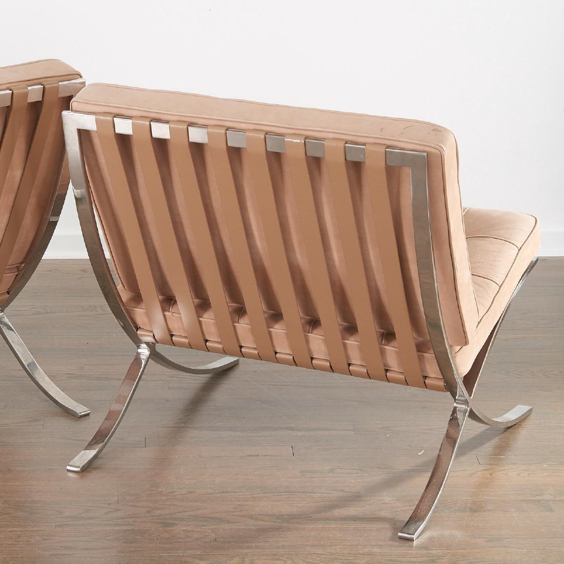 Pair Knoll Barcelona chairs - 5