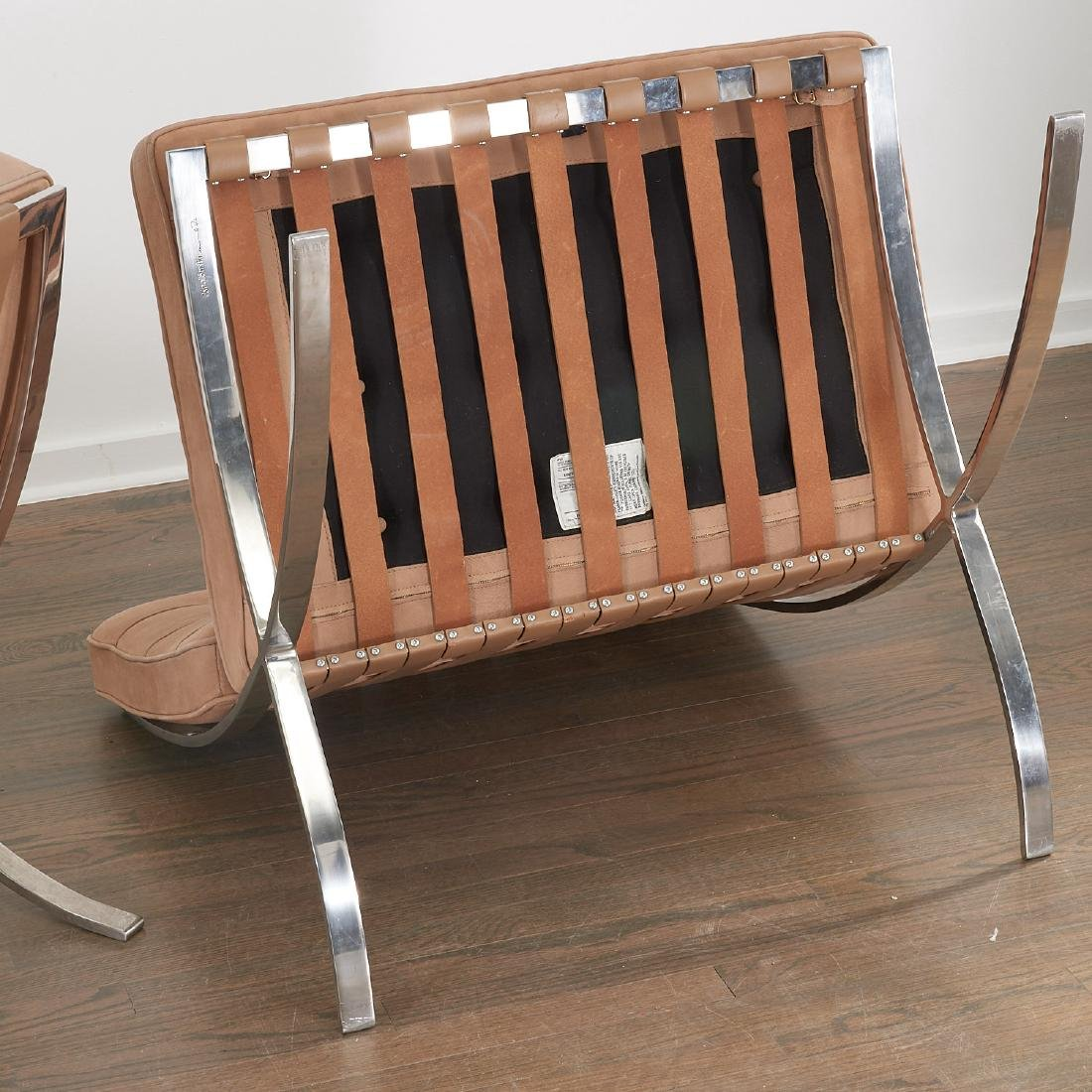 Pair Knoll Barcelona chairs - 7
