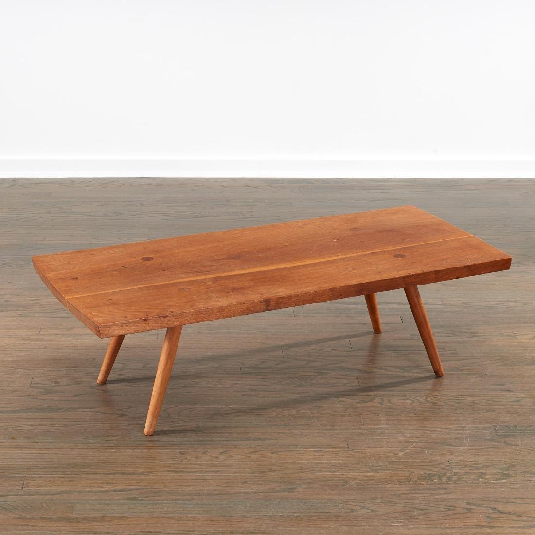Early George Nakashima coffee table