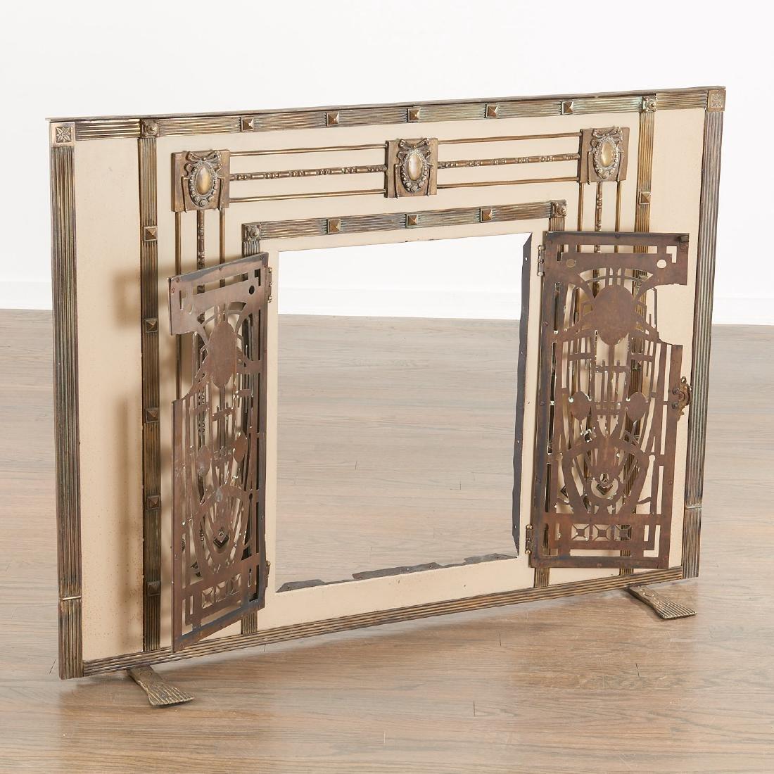 Art Deco fire screen - 3