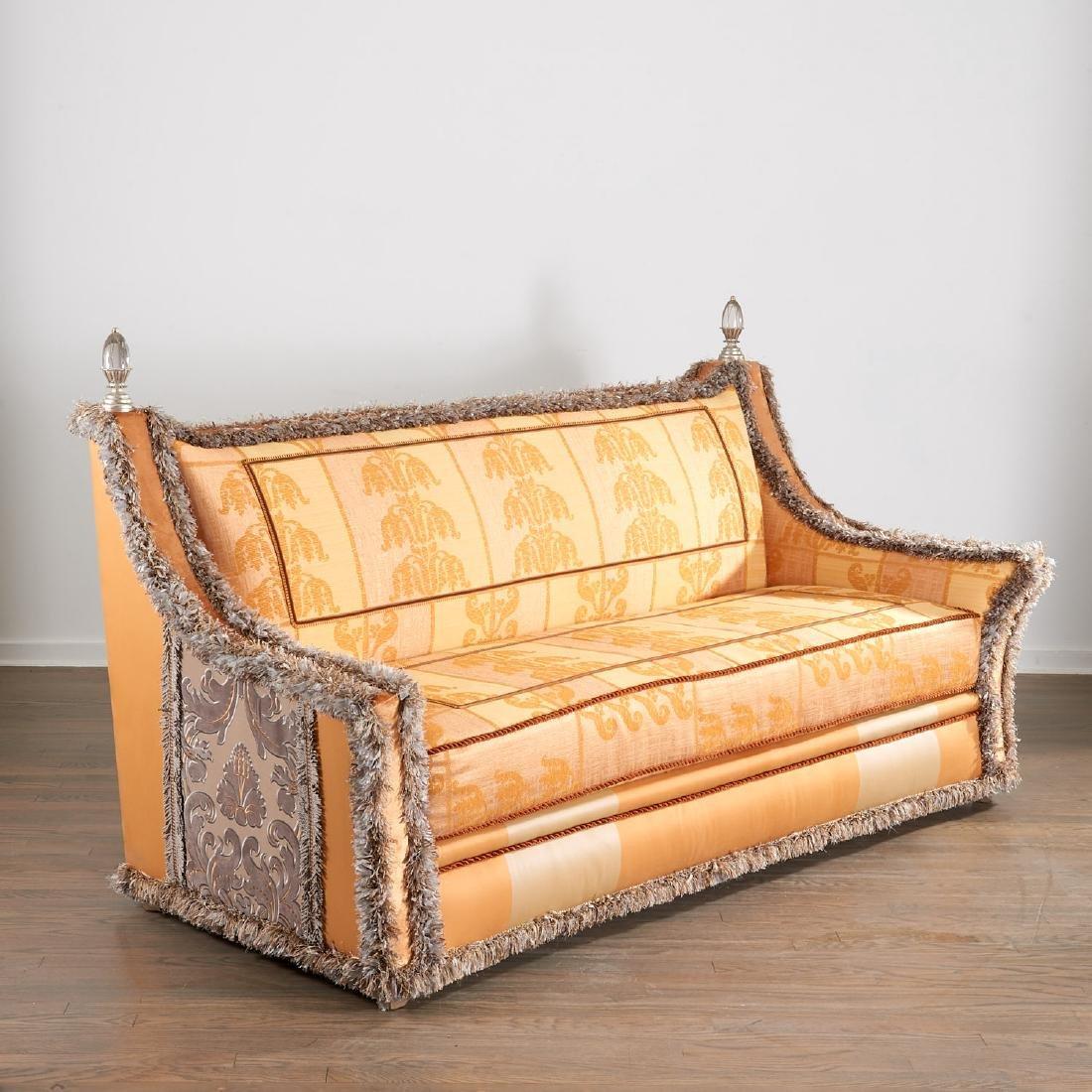 Extravagant custom upholstered sofa