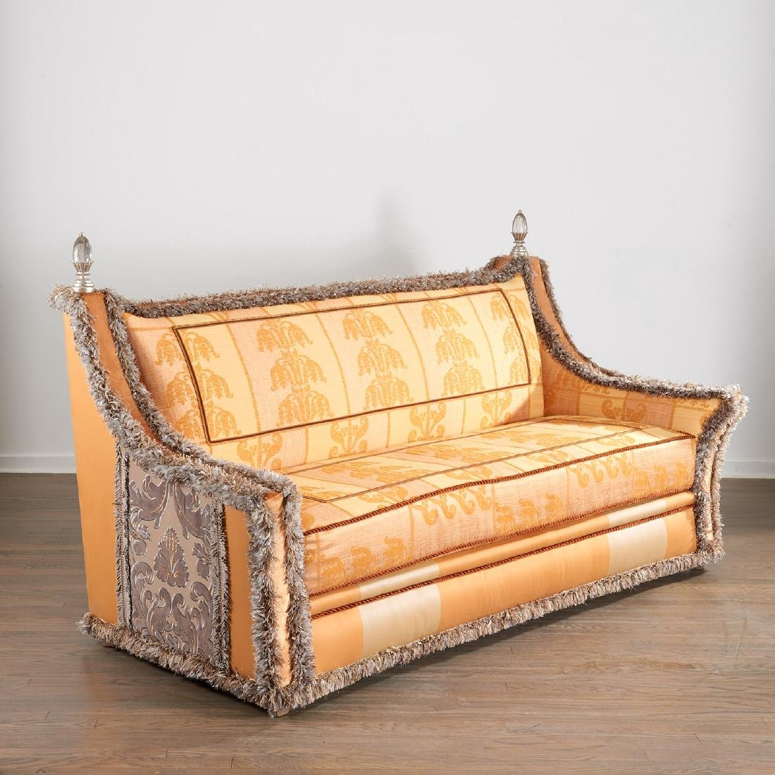 Extravagant custom upholstered sofa