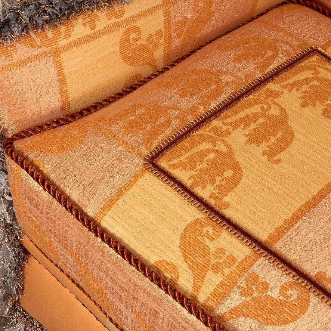 Extravagant custom upholstered sofa - 3