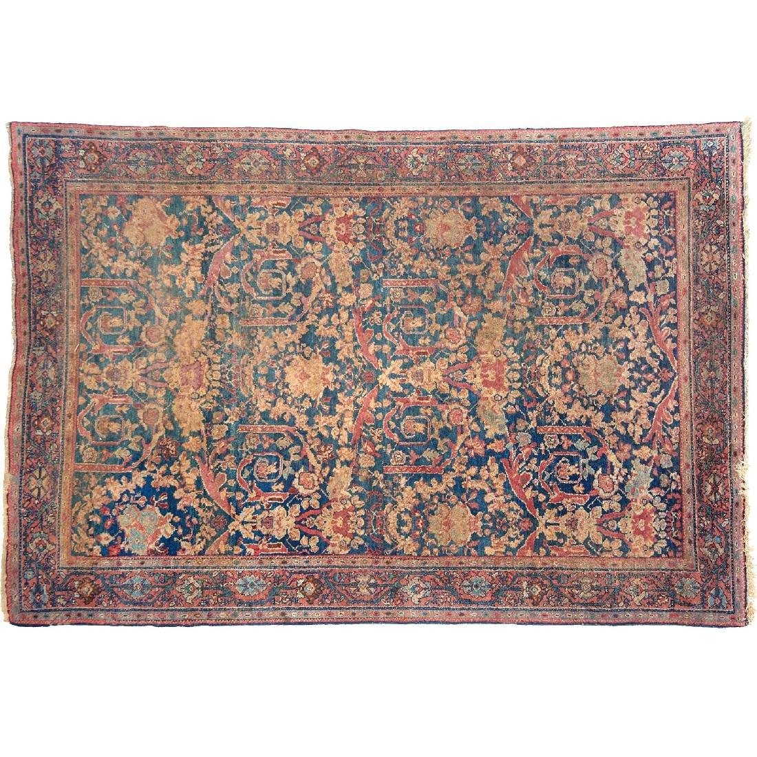 Persian garden rug, ex museum