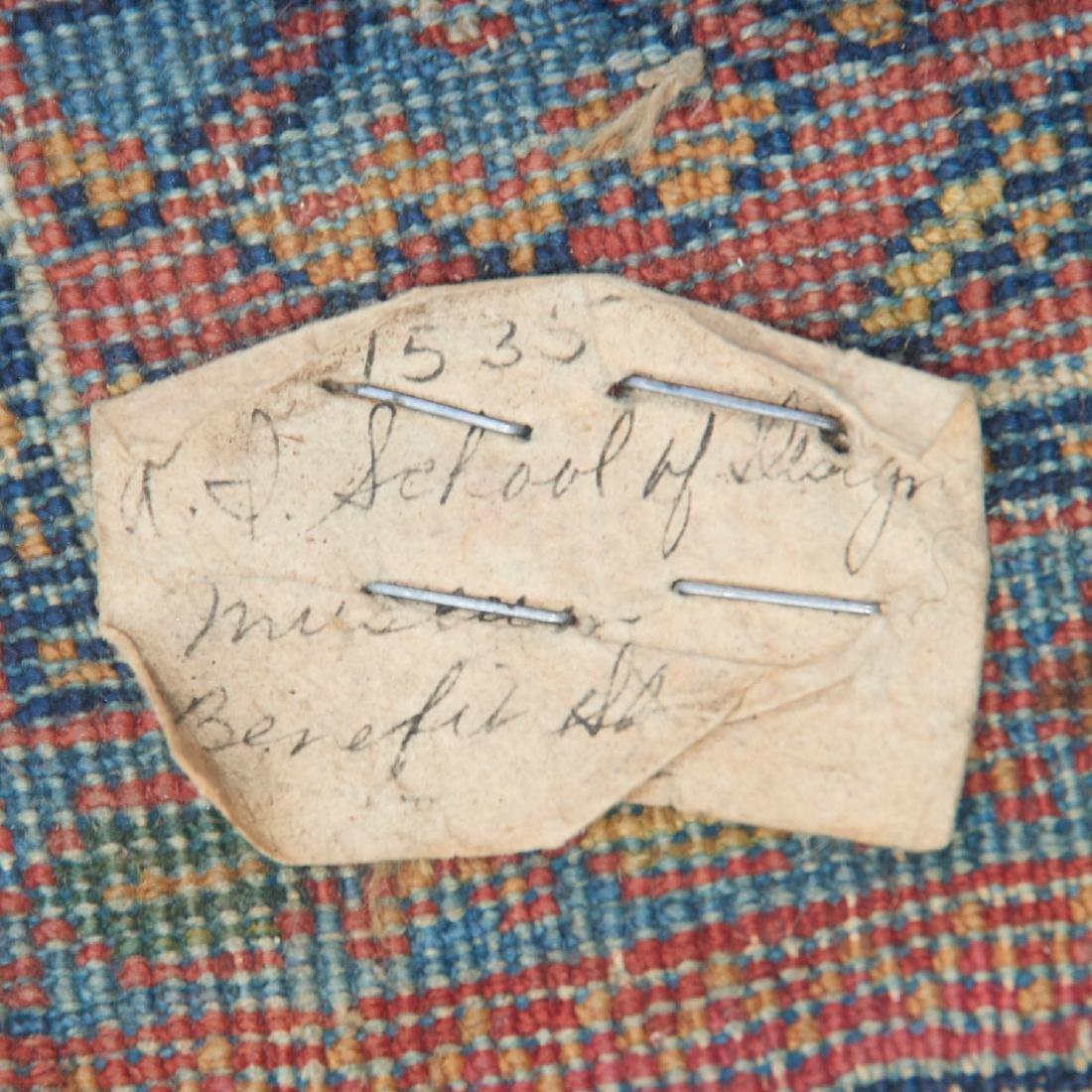 Persian garden rug, ex museum - 3