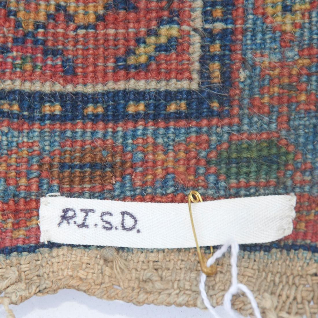 Persian garden rug, ex museum - 4