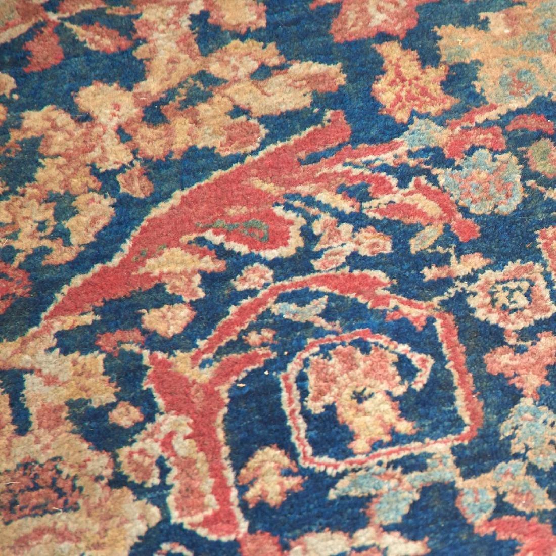 Persian garden rug, ex museum - 7