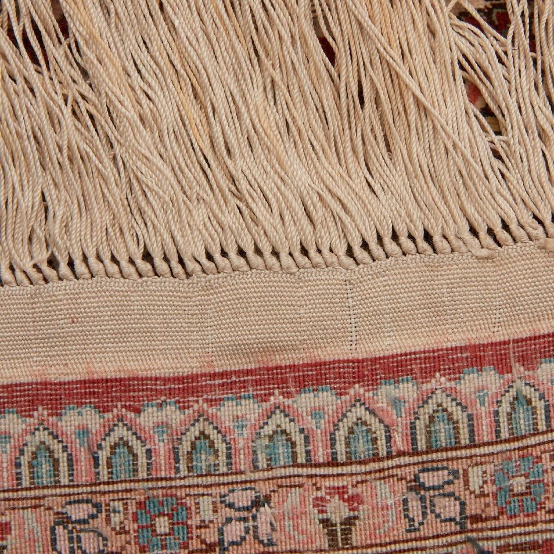 Very fine Hereke style silk rug - 9