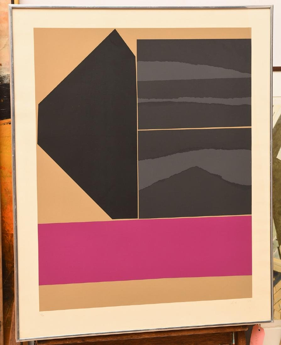 Louise Nevelson, screenprint