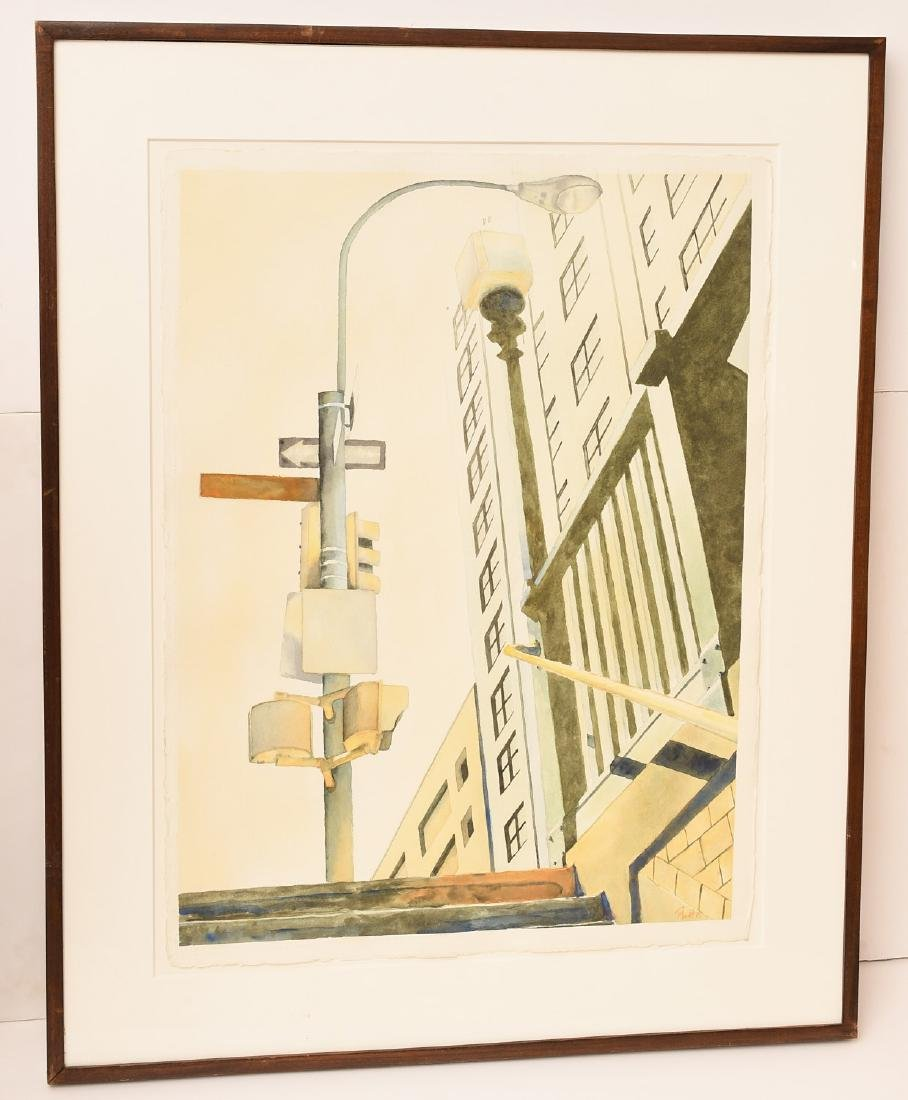 Vincent Pinto, watercolor