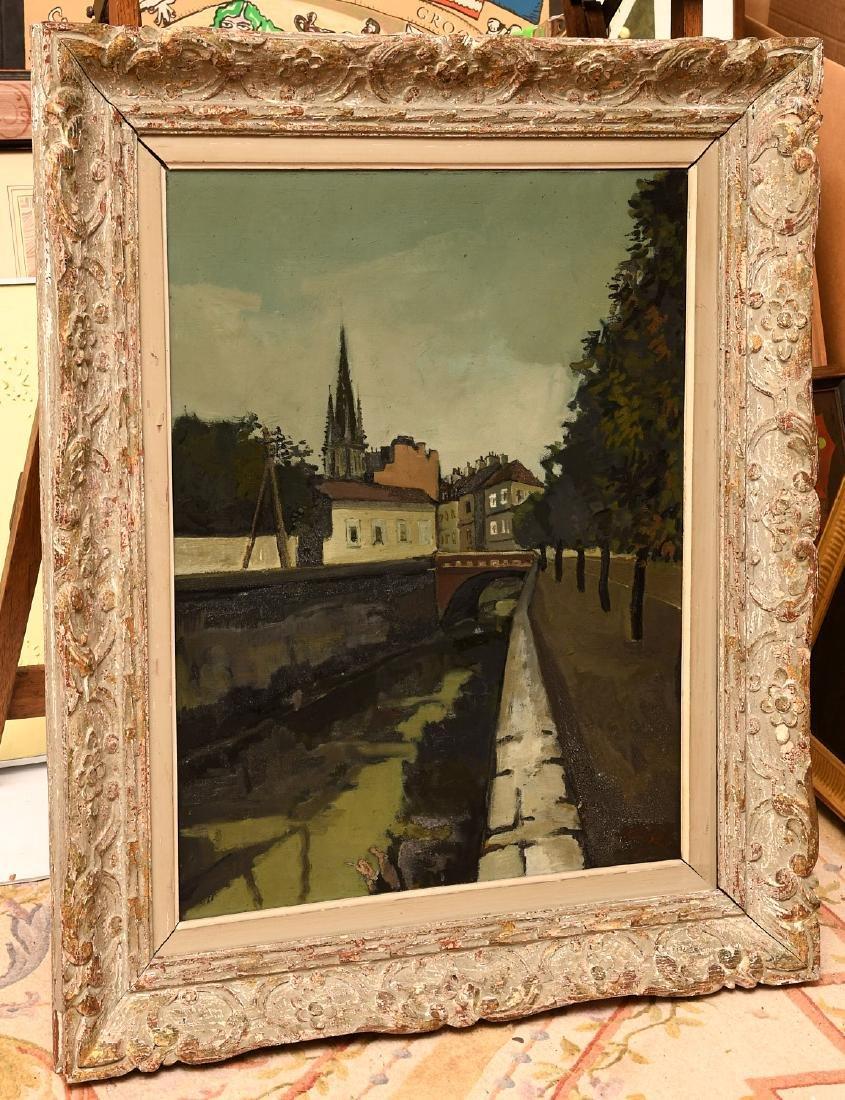 Claude Aliotti, painting