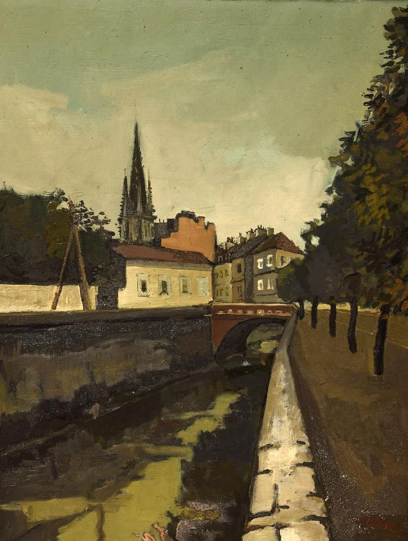 Claude Aliotti, painting - 2