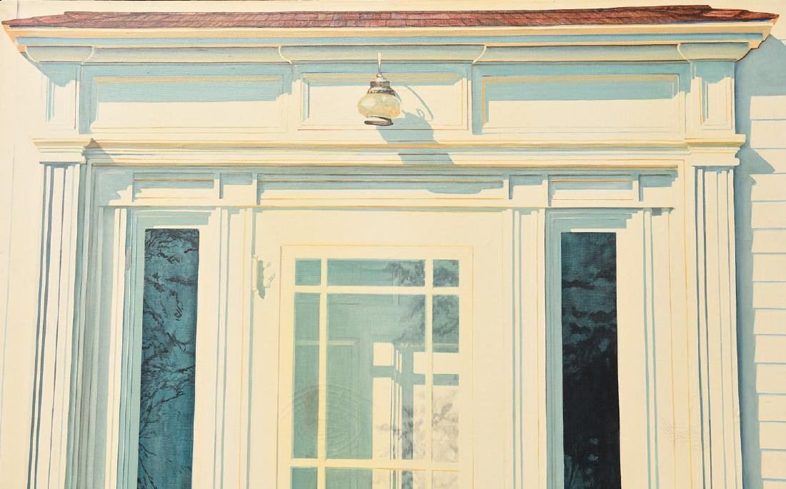 Alice Dalton Brown, large scale painting - 2