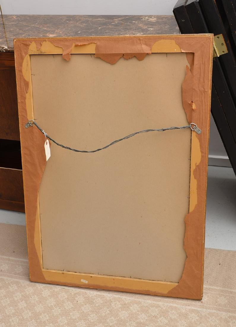Friedman Brothers bamboo style gilded mirror - 4