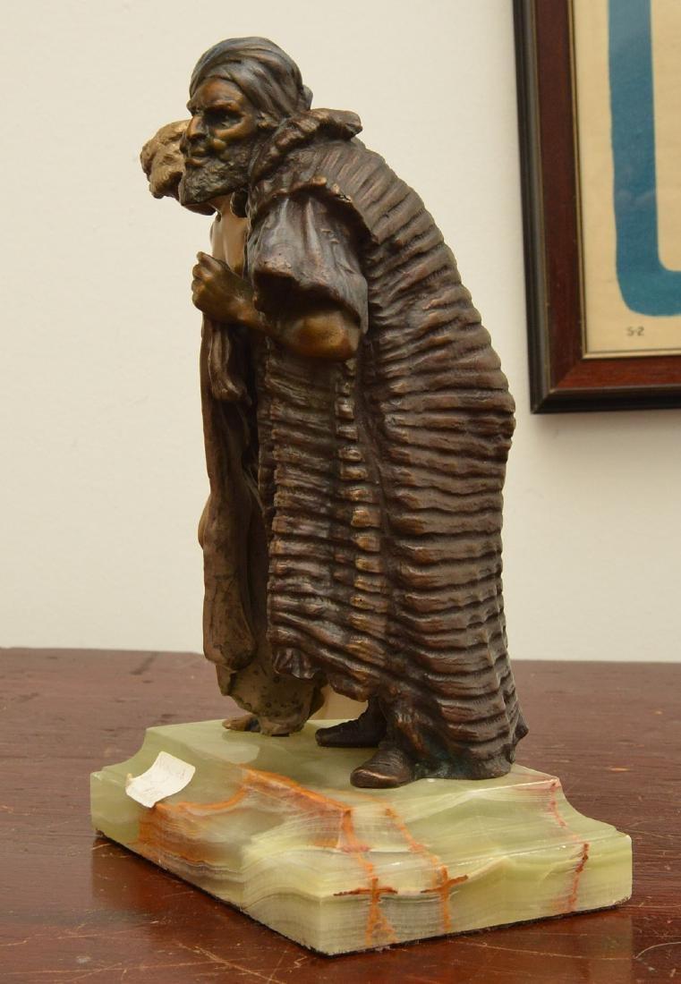 After Franz Bergman, erotic bronze sculpture - 3