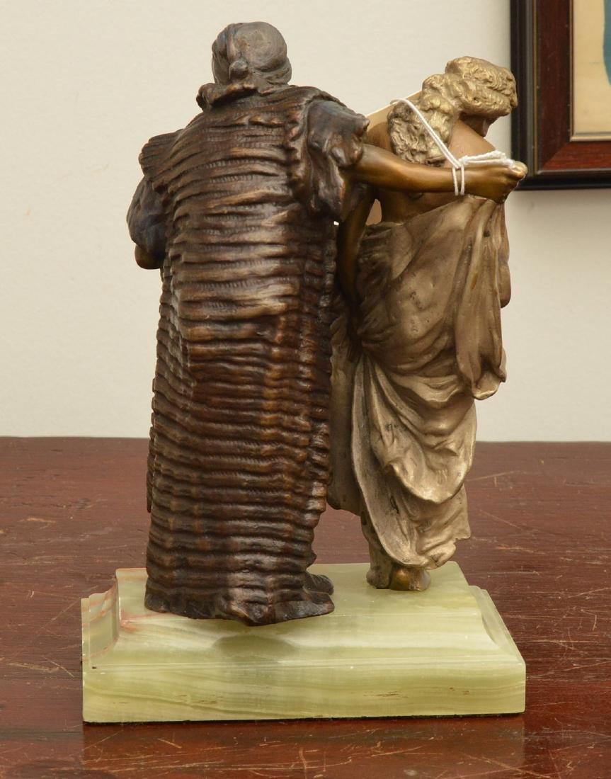 After Franz Bergman, erotic bronze sculpture - 4