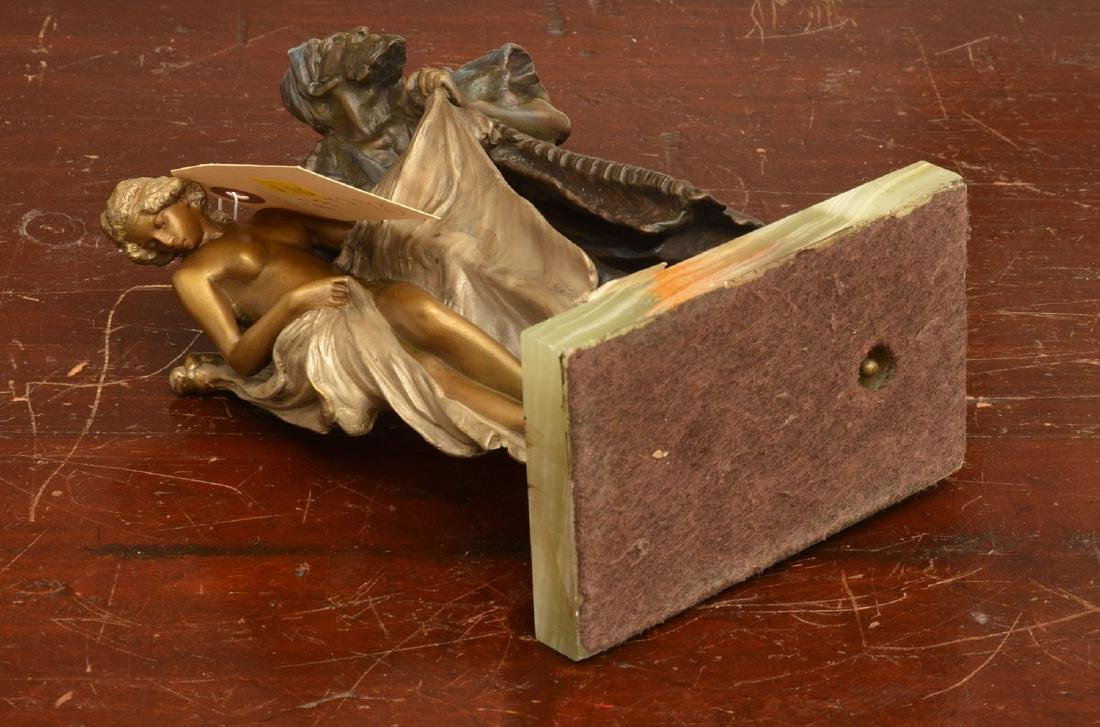 After Franz Bergman, erotic bronze sculpture - 5