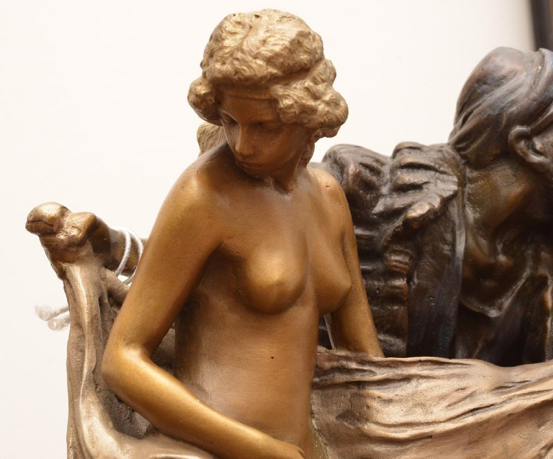 After Franz Bergman, erotic bronze sculpture - 7