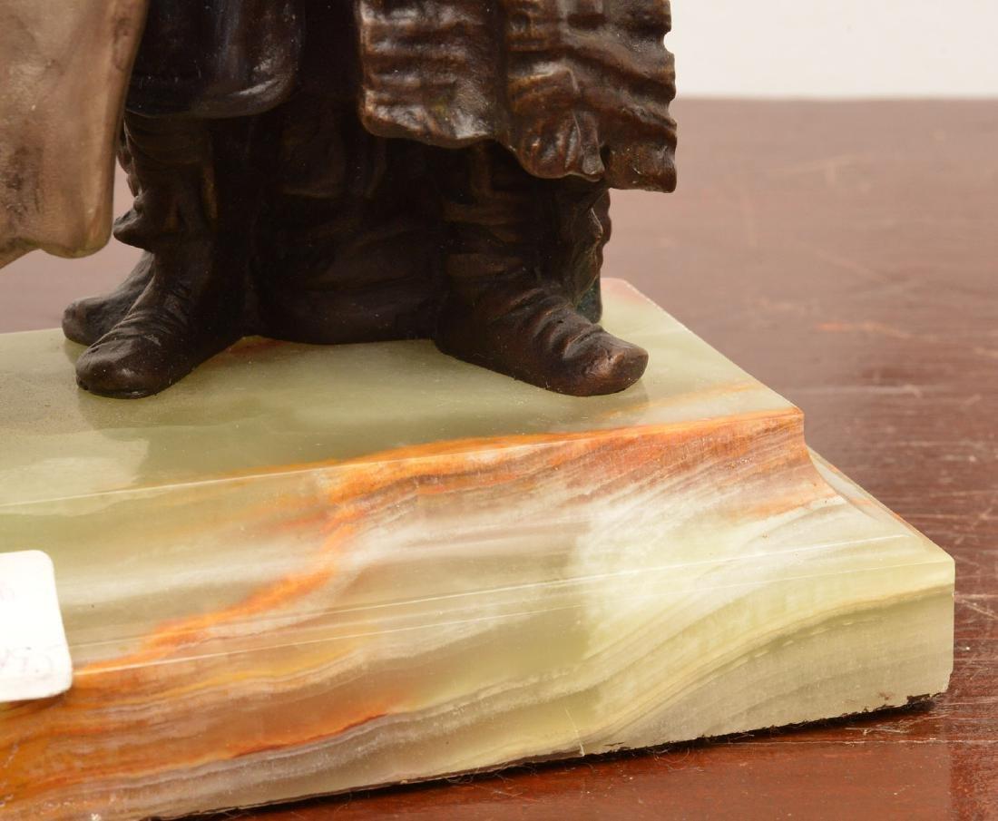 After Franz Bergman, erotic bronze sculpture - 8