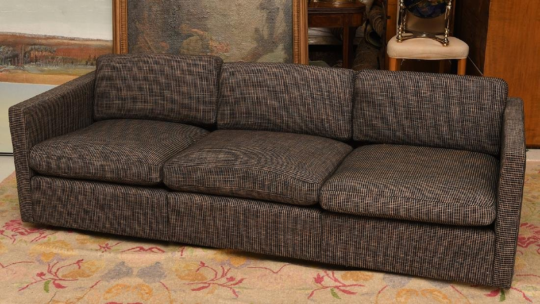"Knoll ""Pfister"" 3-cushion sofa"