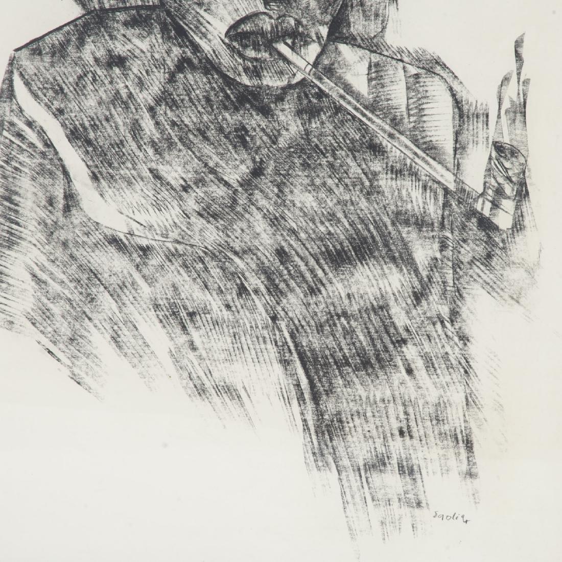 Winston Saoli, mixed media - 4