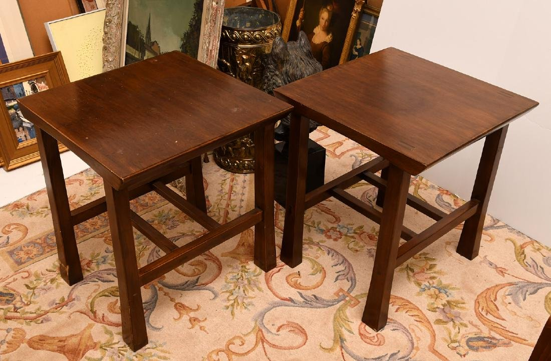 Pair Maria Yee shinto side tables