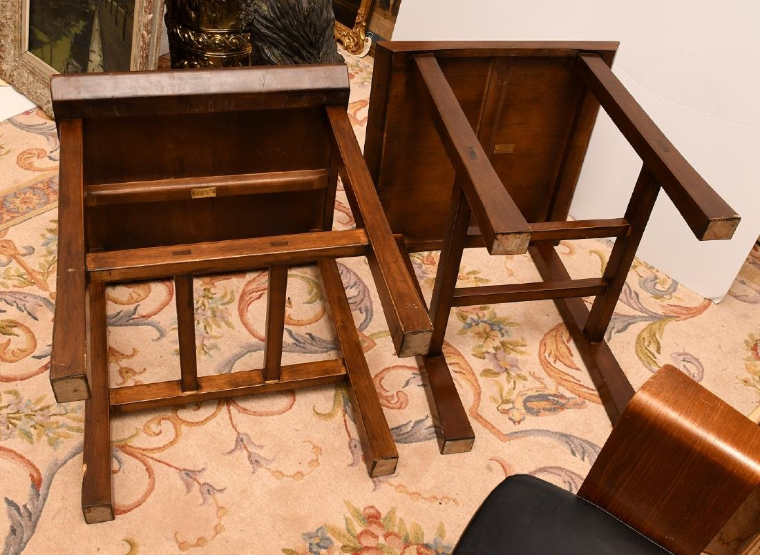 Pair Maria Yee shinto side tables - 5