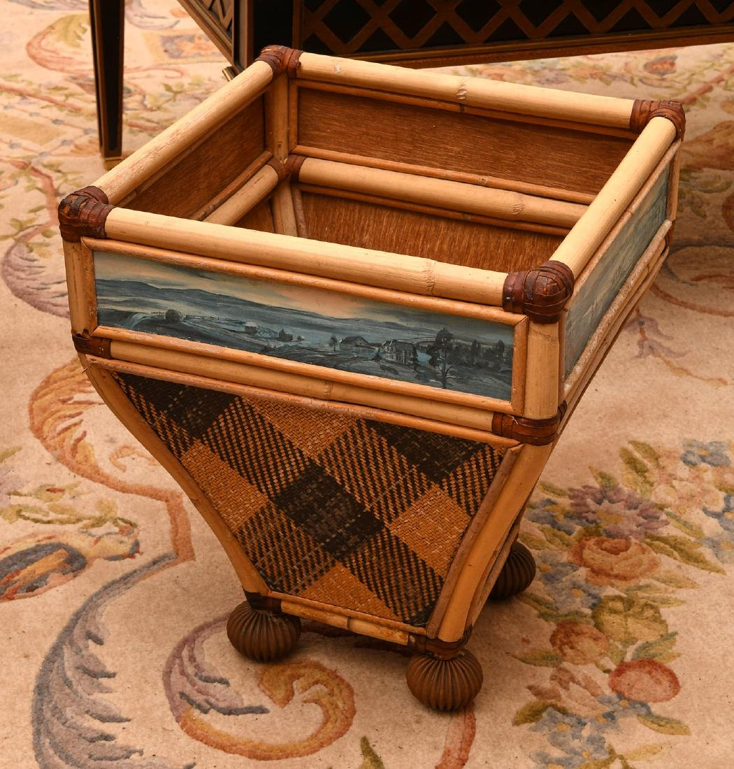 Mackenzie-Childs waste basket