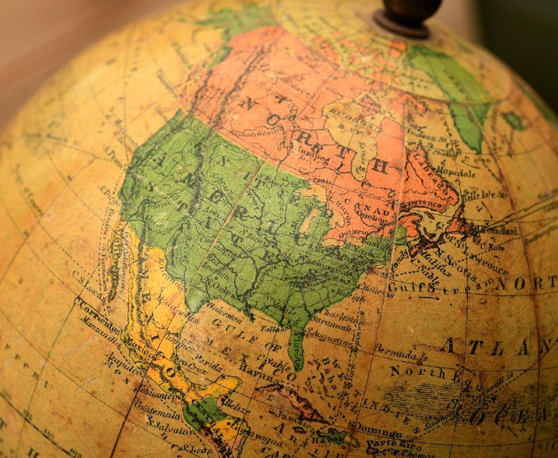 Schedler 6-inch terrestrial globe - 3