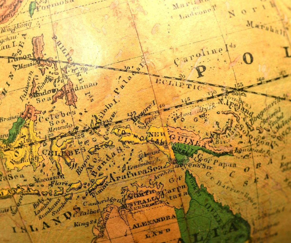 Schedler 6-inch terrestrial globe - 4