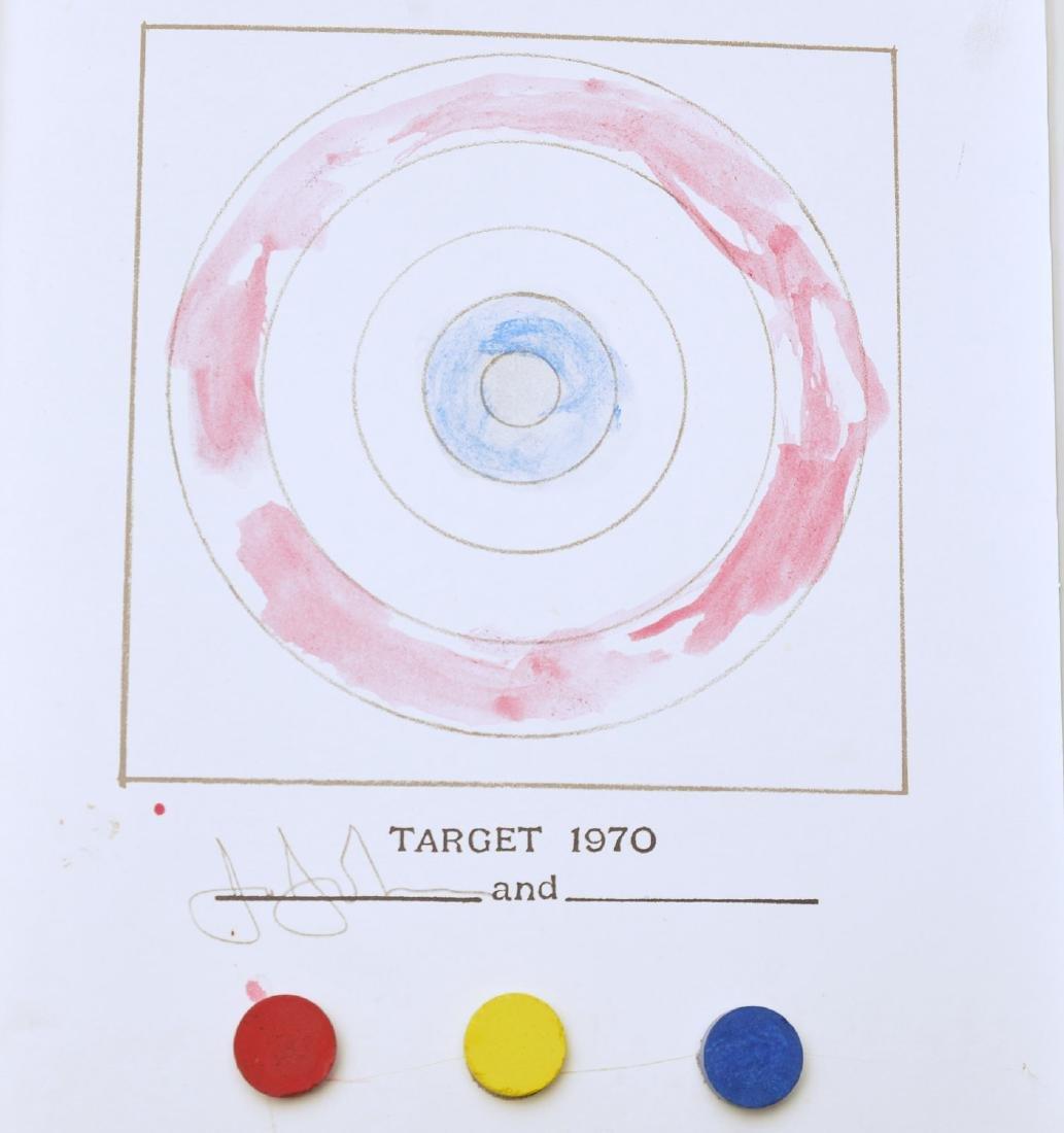 Jasper Johns, book page