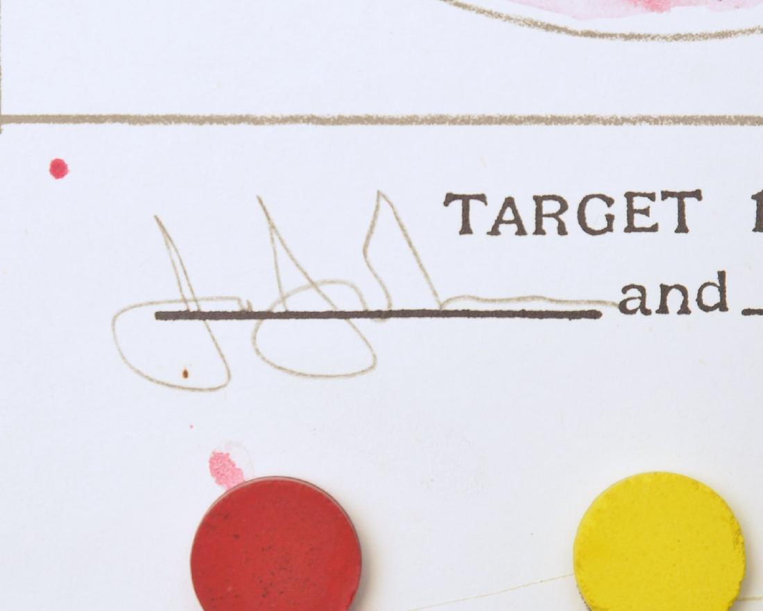 Jasper Johns, book page - 7