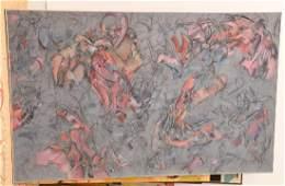 Peter Bardazzi, large painting