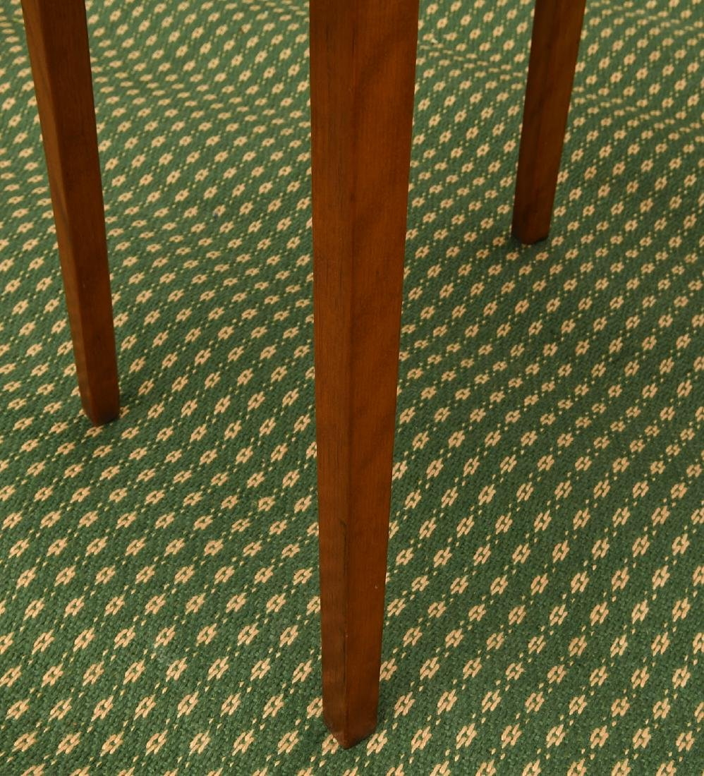 Old country pine side table - 5