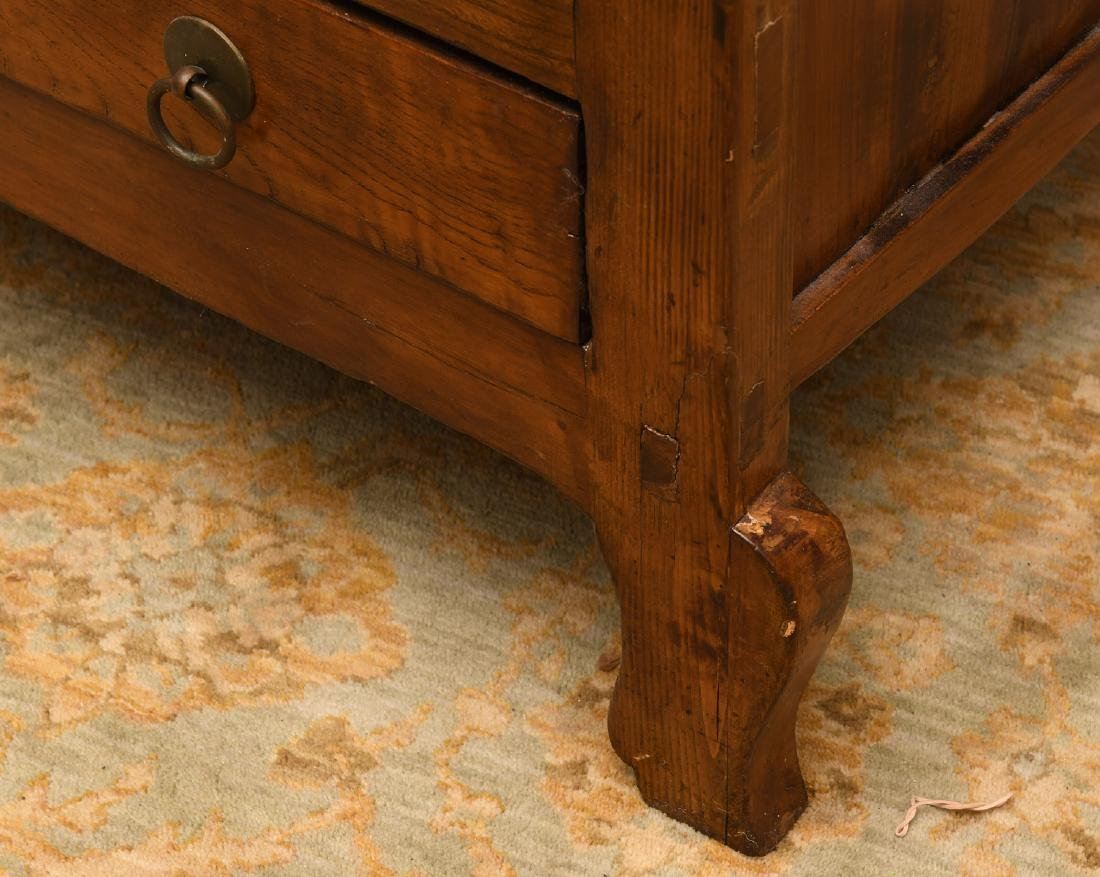 Chinese camphor wood cabinet - 4