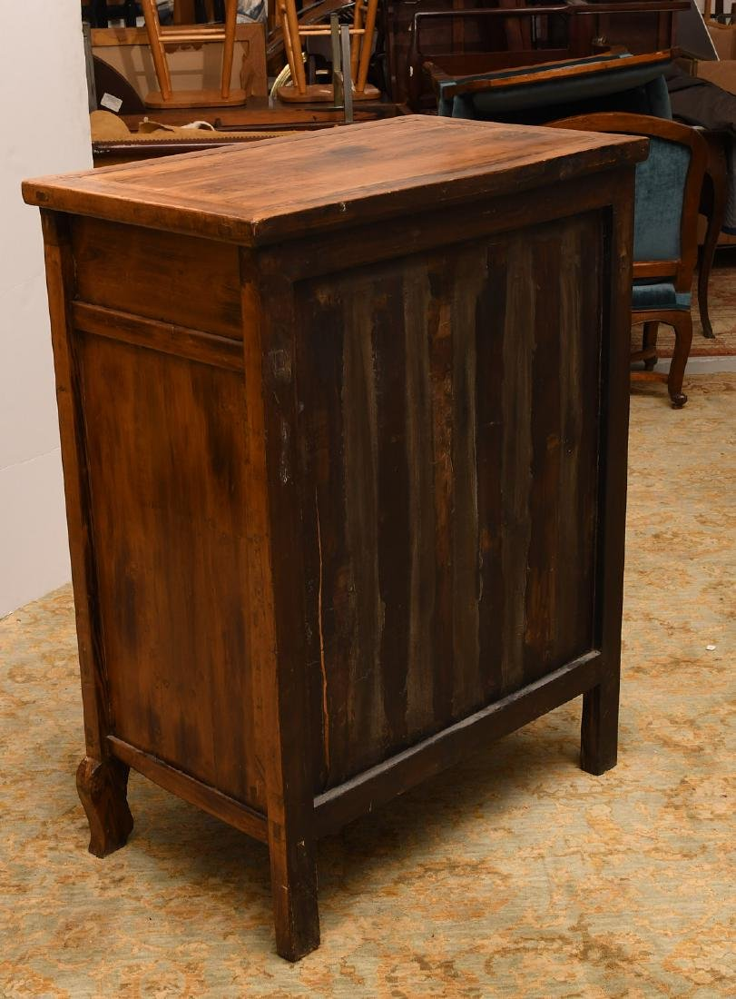 Chinese camphor wood cabinet - 7