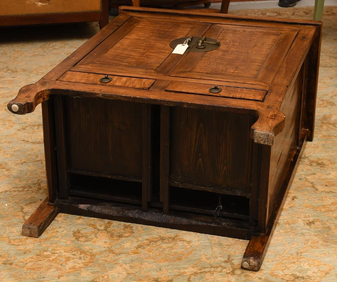 Chinese camphor wood cabinet - 8