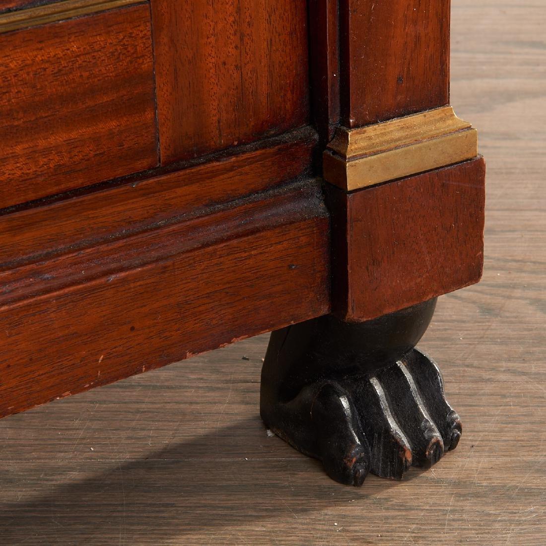 Regency style mahogany cabinet - 3